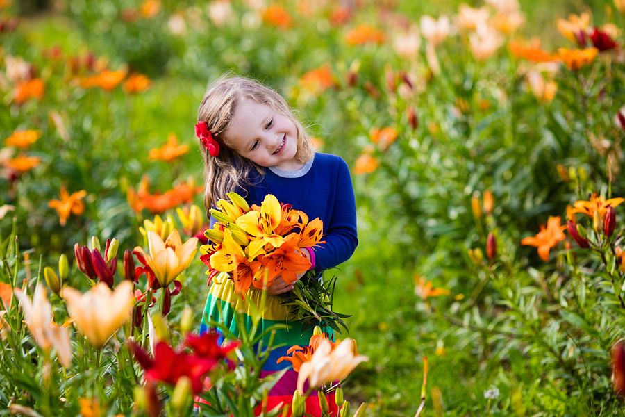 Little girls love flowers too! Especially when they are looking for a home for sale in Clermont County Ohio.