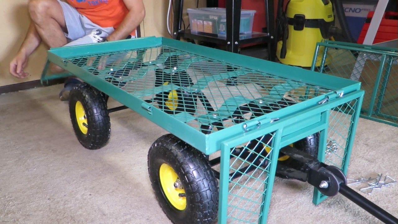 zusammenbau montage und anleitung bollerwagen handwagen. Black Bedroom Furniture Sets. Home Design Ideas