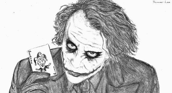 The Joker Art Sketch
