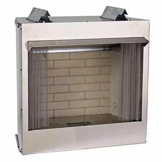 Carol Rose Premium Outdoor Firebox 36 Outdoor Gas Fireplace