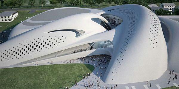 #Zaha Hadid Jesolo Magica Center