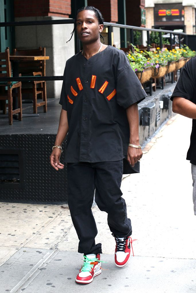 A$AP Rocky Spotted in One of the Most Anticipated Sneaker Collabs