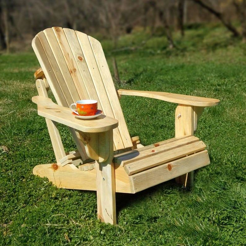 Foldable Adirondack Chair For Sale Wooden Garden Furniture Wooden Armchair Adirondack Chair Wooden adirondack chairs on sale
