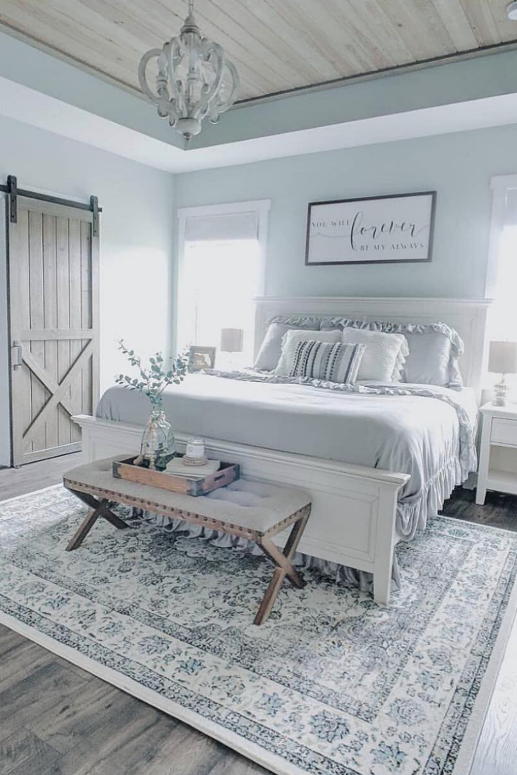 Amazing Farmhouse Style Master Bedroom Design And Decor Ideas Hoomcode Farmhouse Style Master Bedroom Rustic Master Bedroom Master Bedrooms Decor