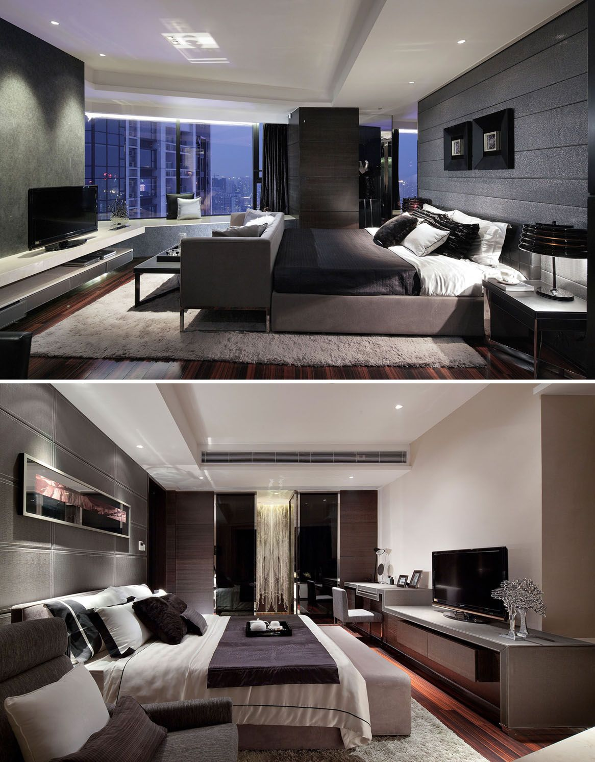 Hotel Bedroom: Love The Hotel Chic Look Of These Bedrooms. Luxury Bedroom