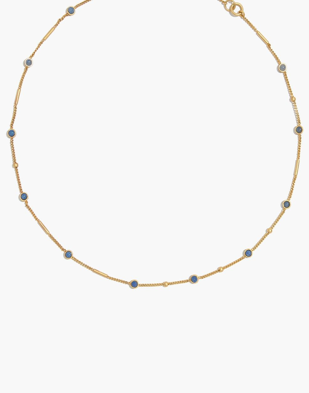 Madewell Desert Sunset Circle Pendant Necklace Jewelry