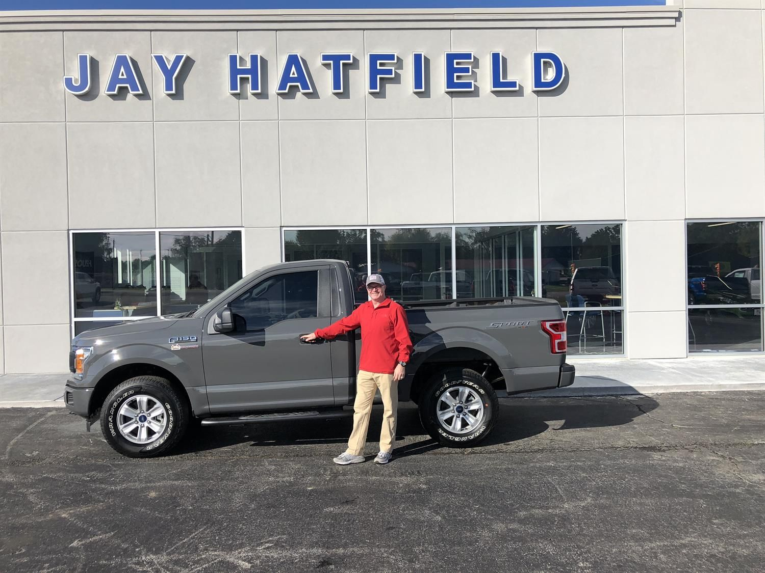 Jay Hatfield Ford >> William S New 2018 Ford F 150 Congratulations And Best