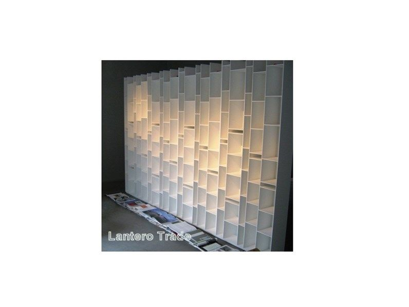 Libreria Random Mdf OFFERTA OUTLET | Librerie | Outlets, Wall lights ...