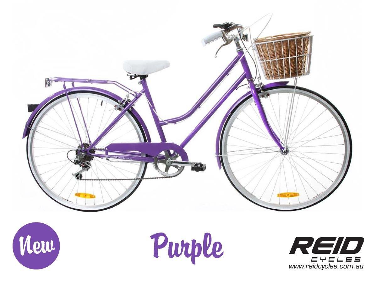 Stylish Ladies Bicycle Vintage Ladies Bike Purple Bike Bicycle