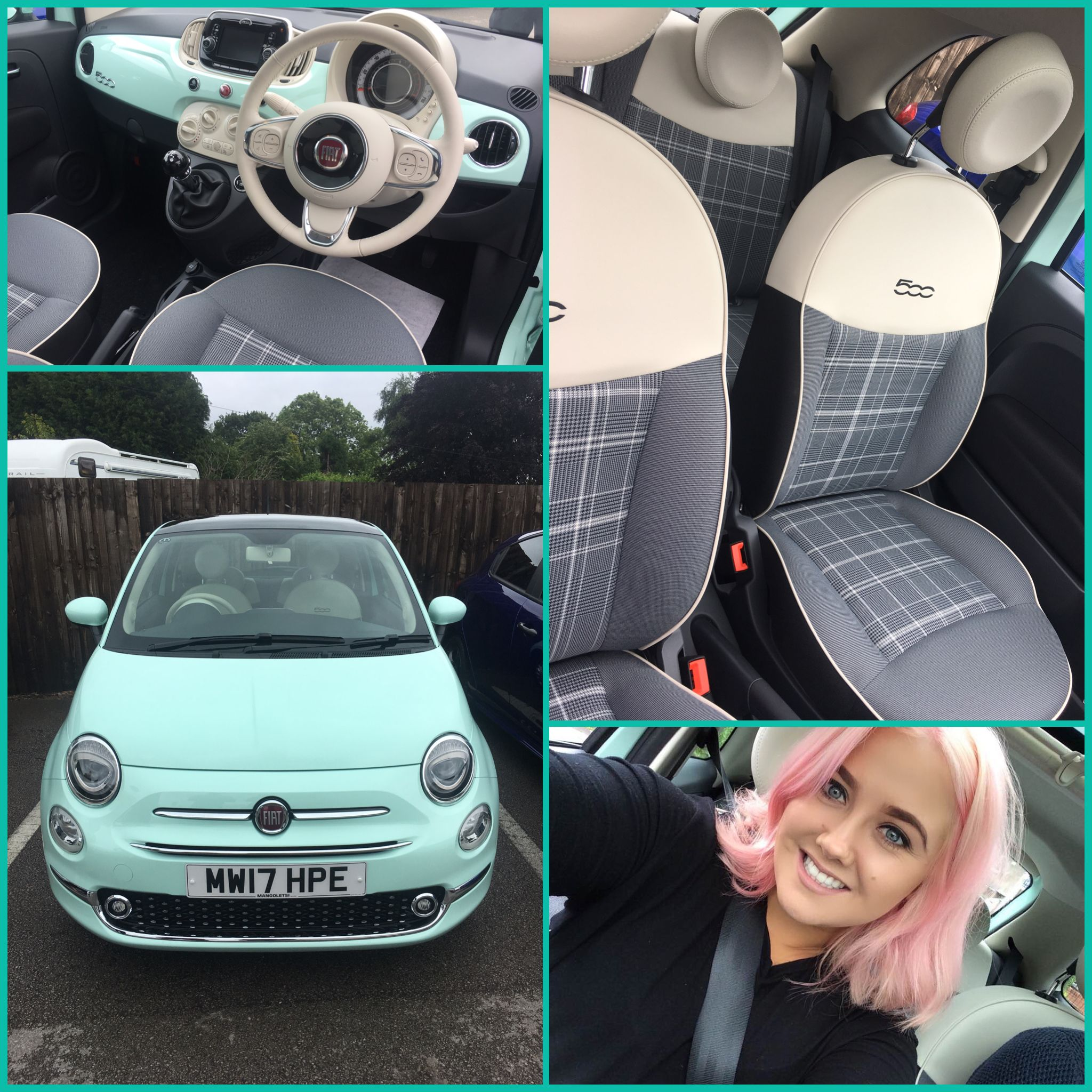 Smooth Mint Fiat 500 With Images Fiat 500 Fiat Dream Cars