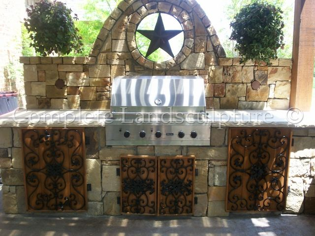 Outdoor Kitchens Complete Landsculpture Dallas Fort Worth And Oklahoma City Outdoor Kitchen Service Design