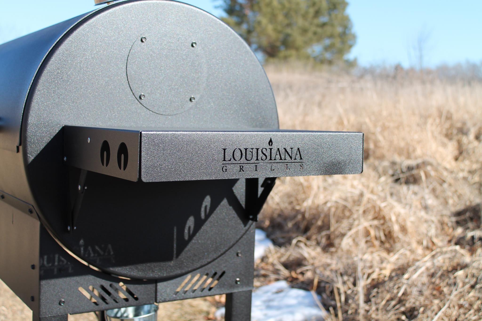 Louisiana Grills Side Shelf | Wood pellet grills ...