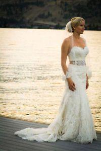 Lace Strapless Wedding Dress Size 10 Street 6 Wedding Calgary Kijiji Wedding Dress Size 10 Strapless Wedding Dress Wedding Dresses