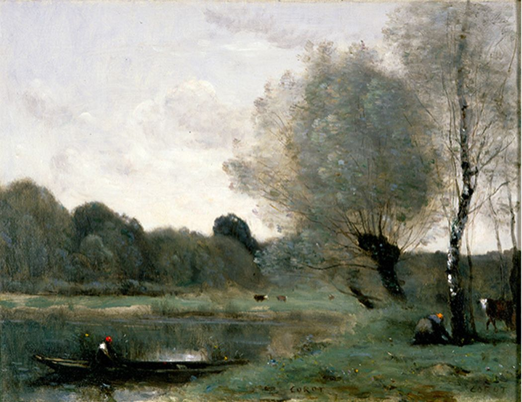 corot paintings value | ... paintings produced by Jean-Baptiste ...
