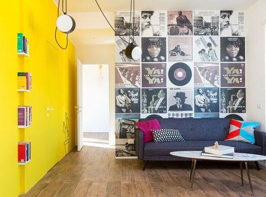 Carta da parati | Idee per interni, Dipinti soggiorno ...