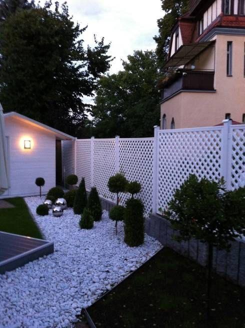 25 bardas y cercos para delimitar tu terreno con estilo - Vallas para muros ...