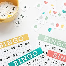 Print these printable bingo cards off for a no-cost family game night!