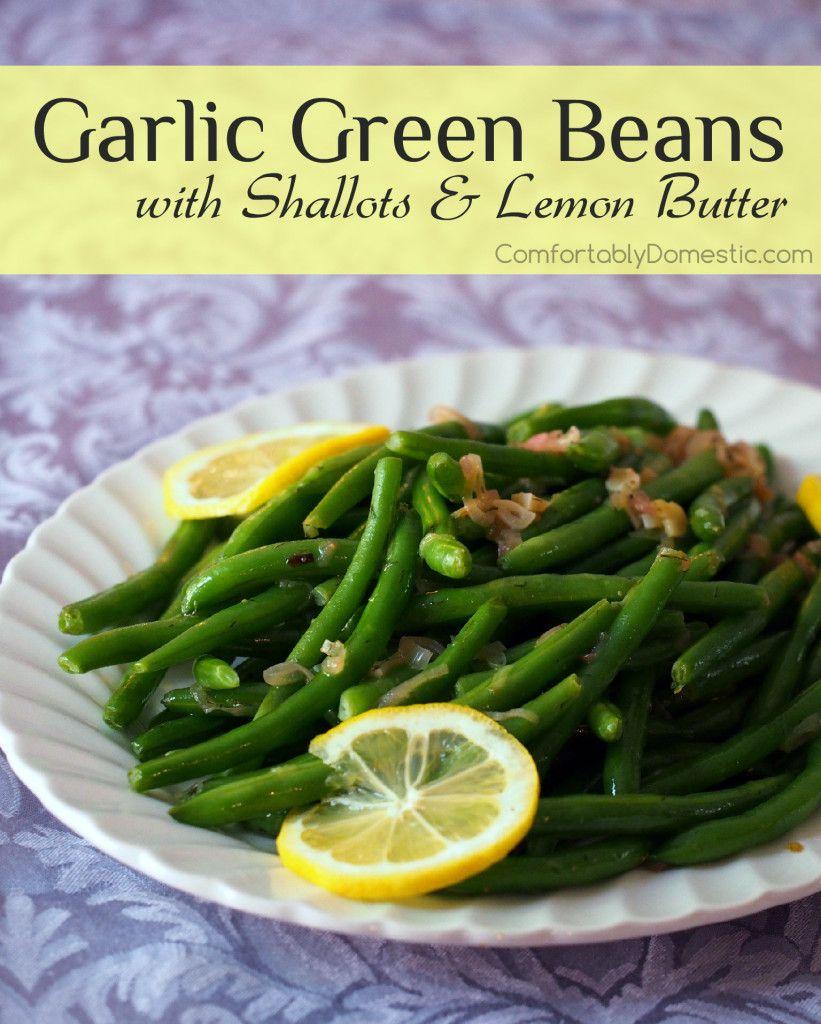 Easy-Garlic-Green-Beans-with-Lemon-Butter