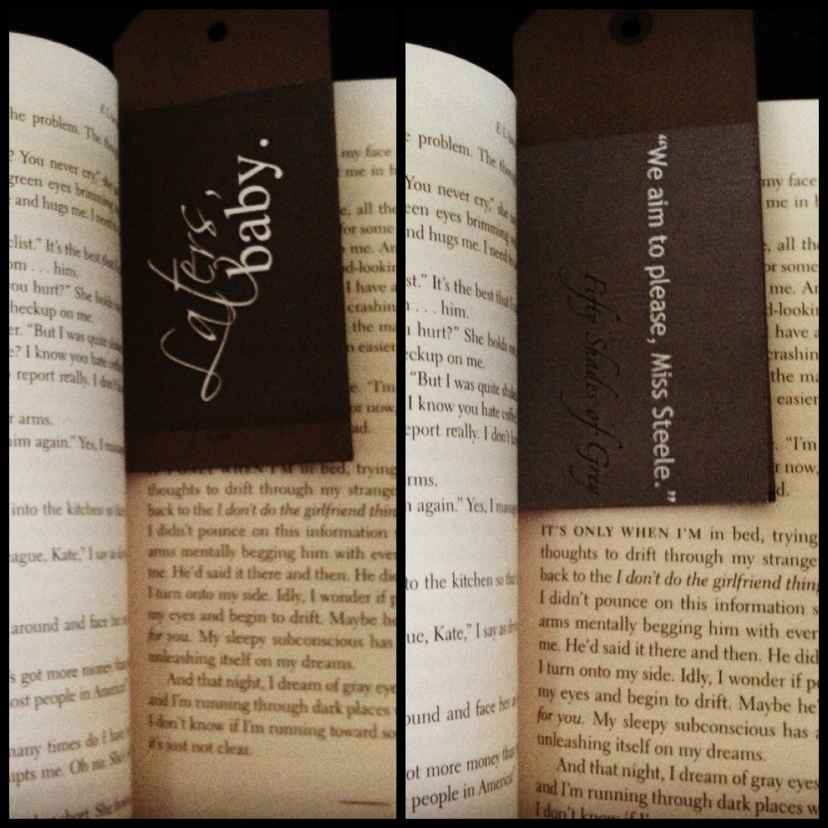diy book separator fifty