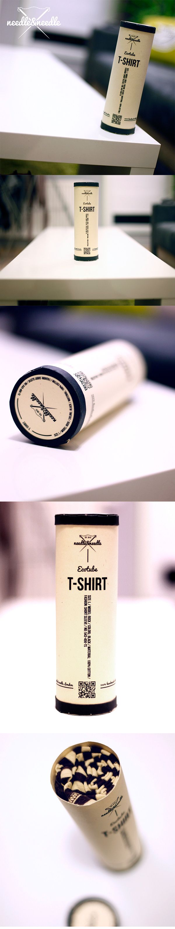 Shirt design examples - Tshirt Needle X Needle Packaging Design Fabric Inspiration