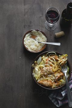 Chicken and Noodles..
