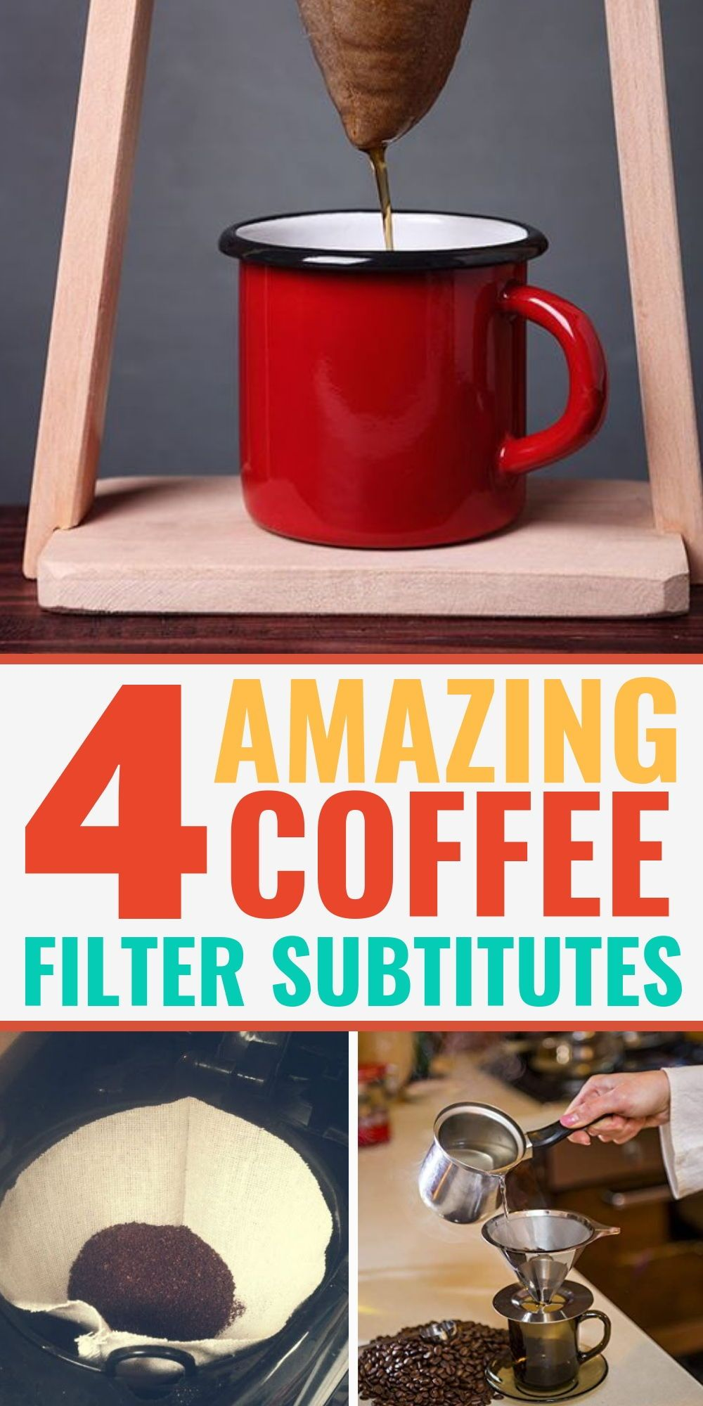 5 Amazing Coffee Filter Substitutes Coffee filter
