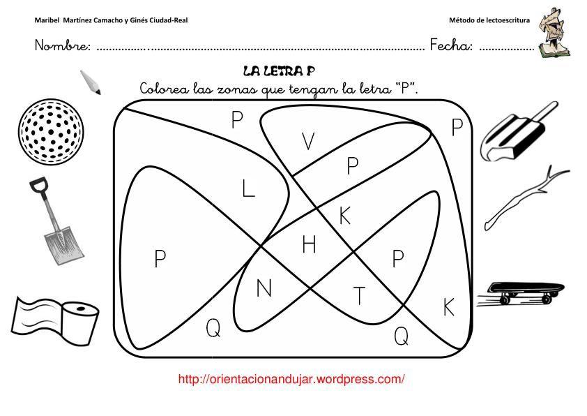 letra-p-12   letra p   Pinterest   Letras, Consonantes y Metodo
