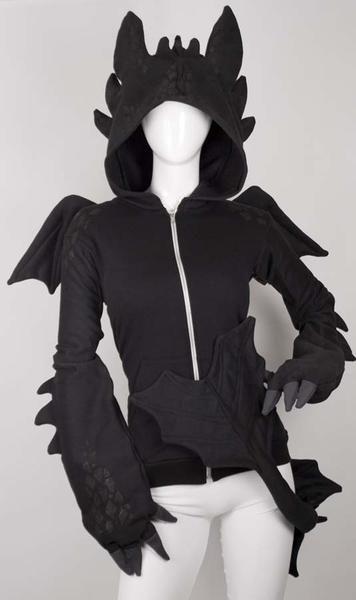 b5d0e32968 I found  Black Dragon Hoodie  on Wish