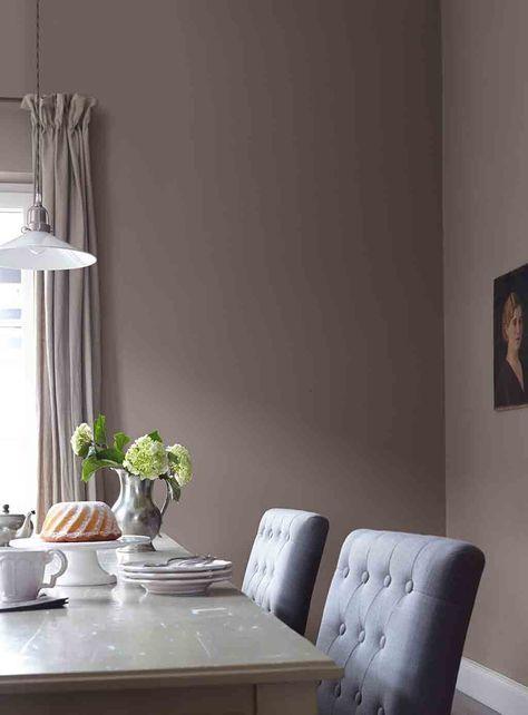 Perfekt Graue Wand Im Esszimmer Alpina Feine Farben No. 05 Dichter Der Erde |  Wohnung Wandfarbe | Pinterest