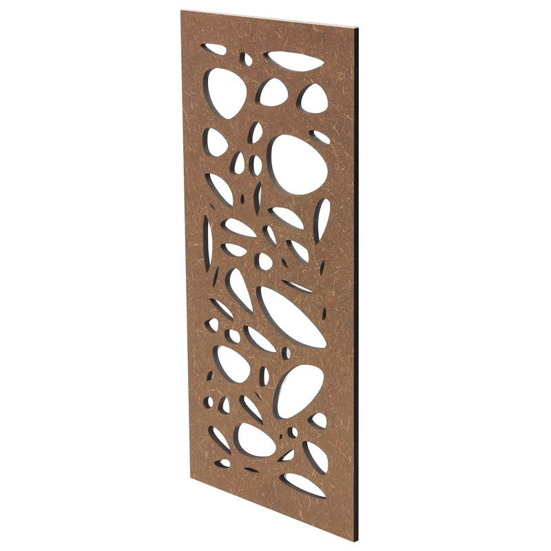 Pebbles Hardwood Screen | Stratco | House | Decorative fence panels