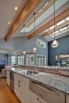 Long Island Kitchen Ceiling Design Bungalow Renovation Kitchen Curtain Designs