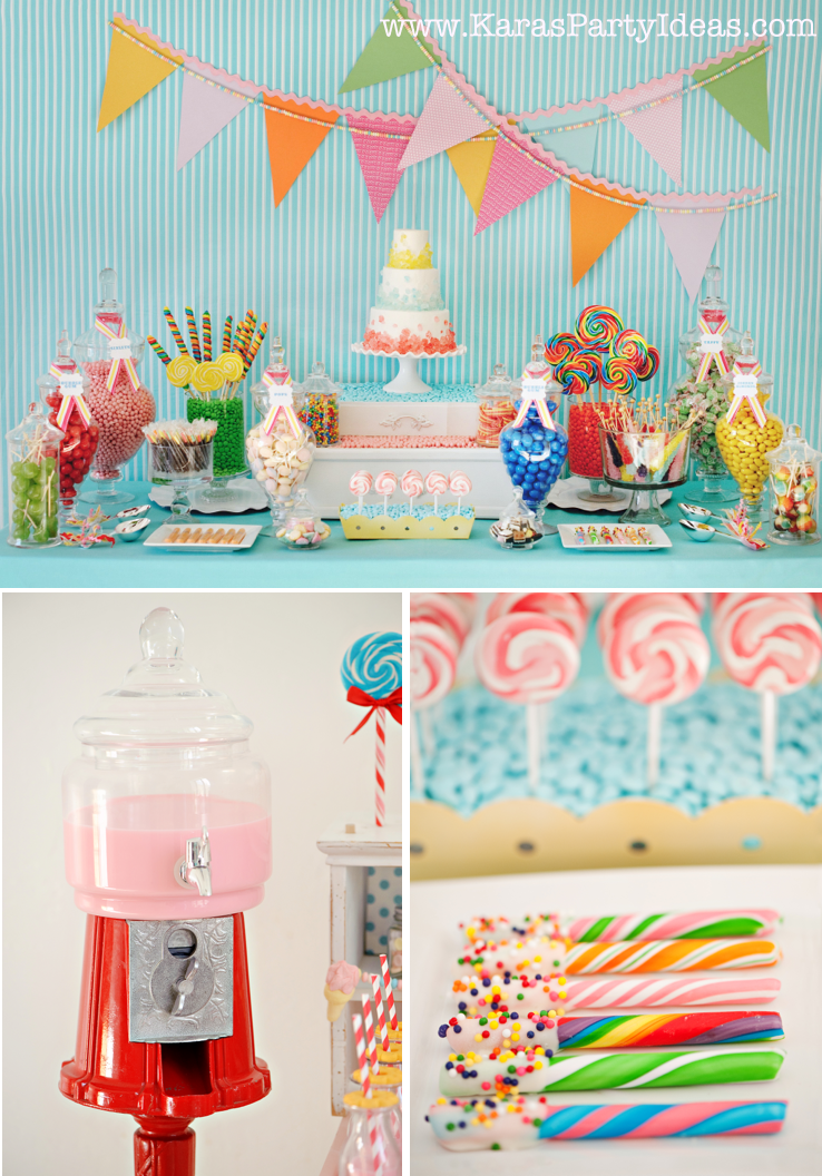 Admirable Sweet Shoppe Candy Party Candy Sweet Shoppe Party Ideas Download Free Architecture Designs Rallybritishbridgeorg