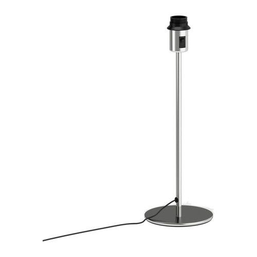 Rodd table lamp base nickel plated 18 lamp base sold separately bedroom furniture ikea table lamp baselamp mozeypictures Image collections