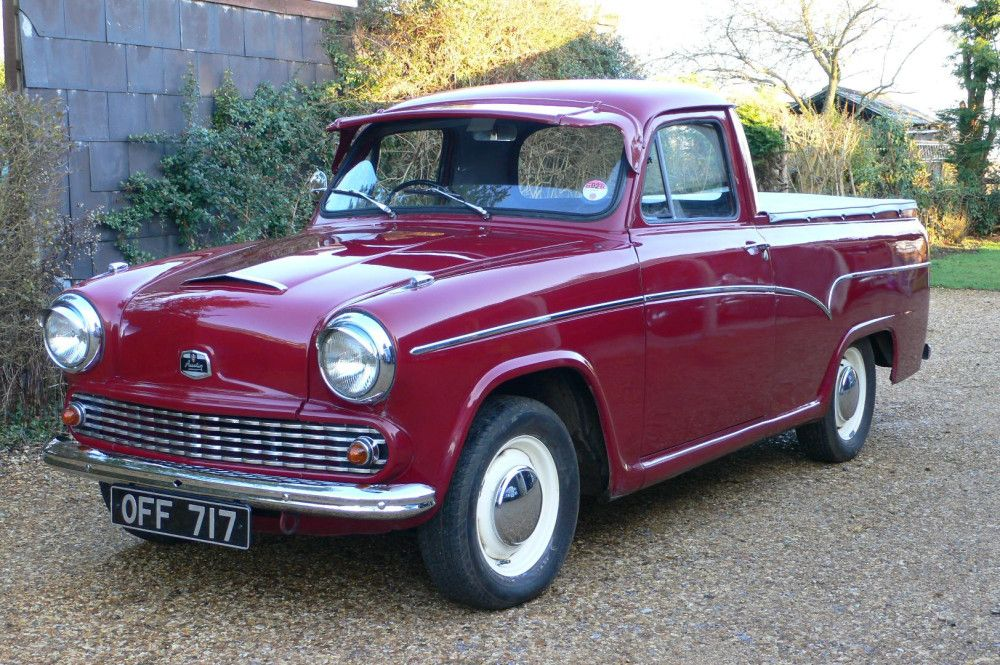 1960 Austin A60 Pick-Up Truck Maintenance/restoration of old ...