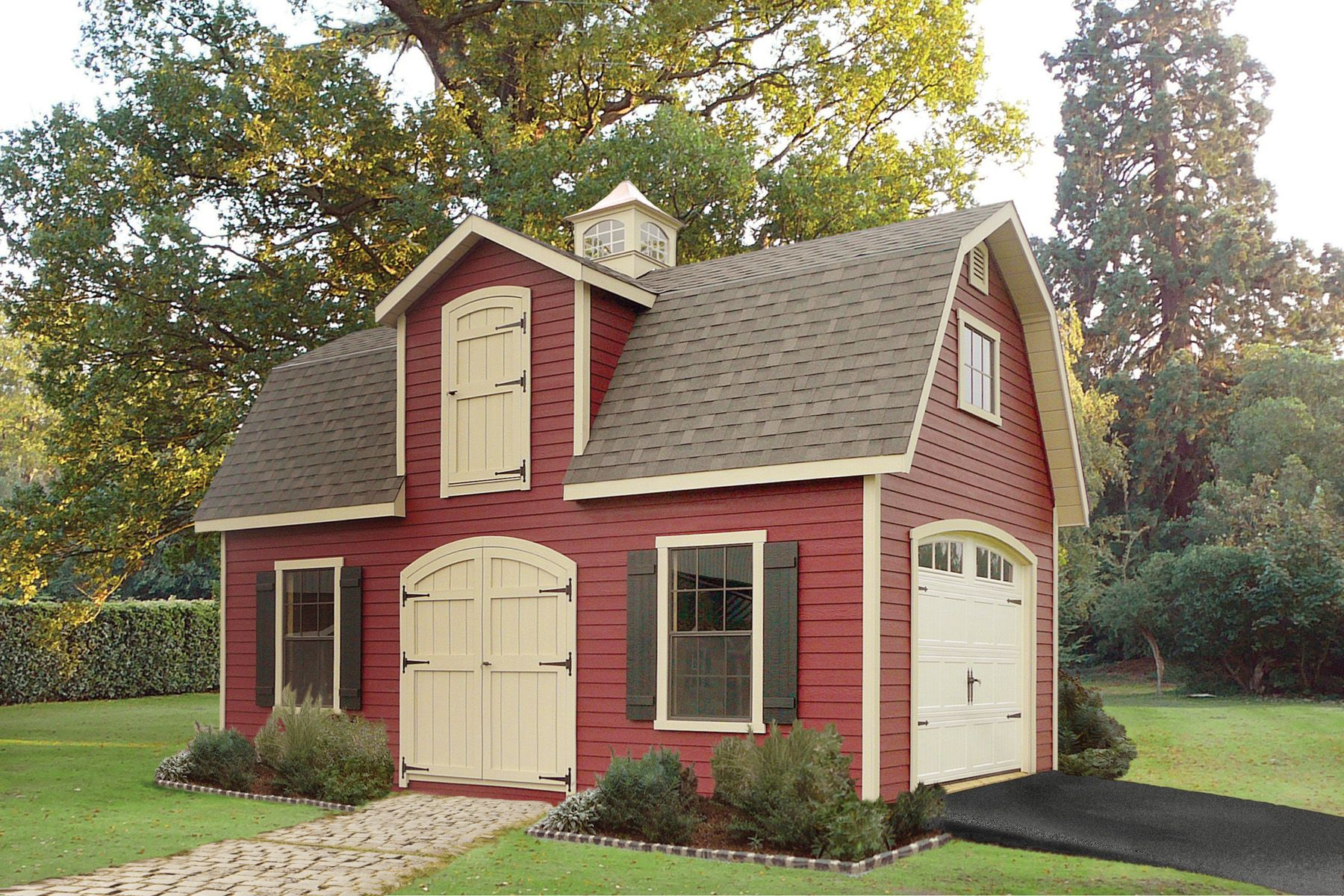 14x24 two story dutch sheds pinterest dutch for 14x24 cabin plans
