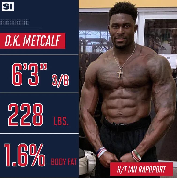 The Internet Is Hilariously Roasting Dk Metcalf S Attempt At Running A Route Running Route Make Me Laugh