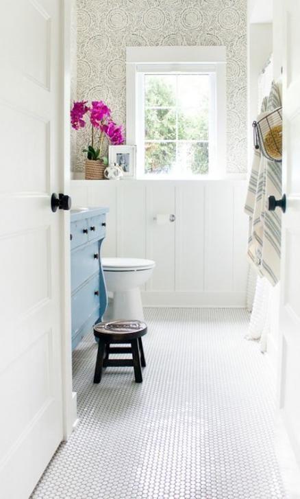 69 trendy wallpaper ideas bathroom house house bathroom