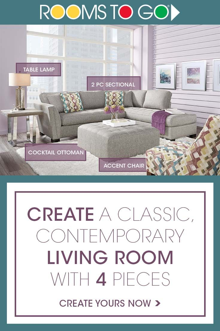 Creating A Classic Contemporary Living Room Is Super Easy