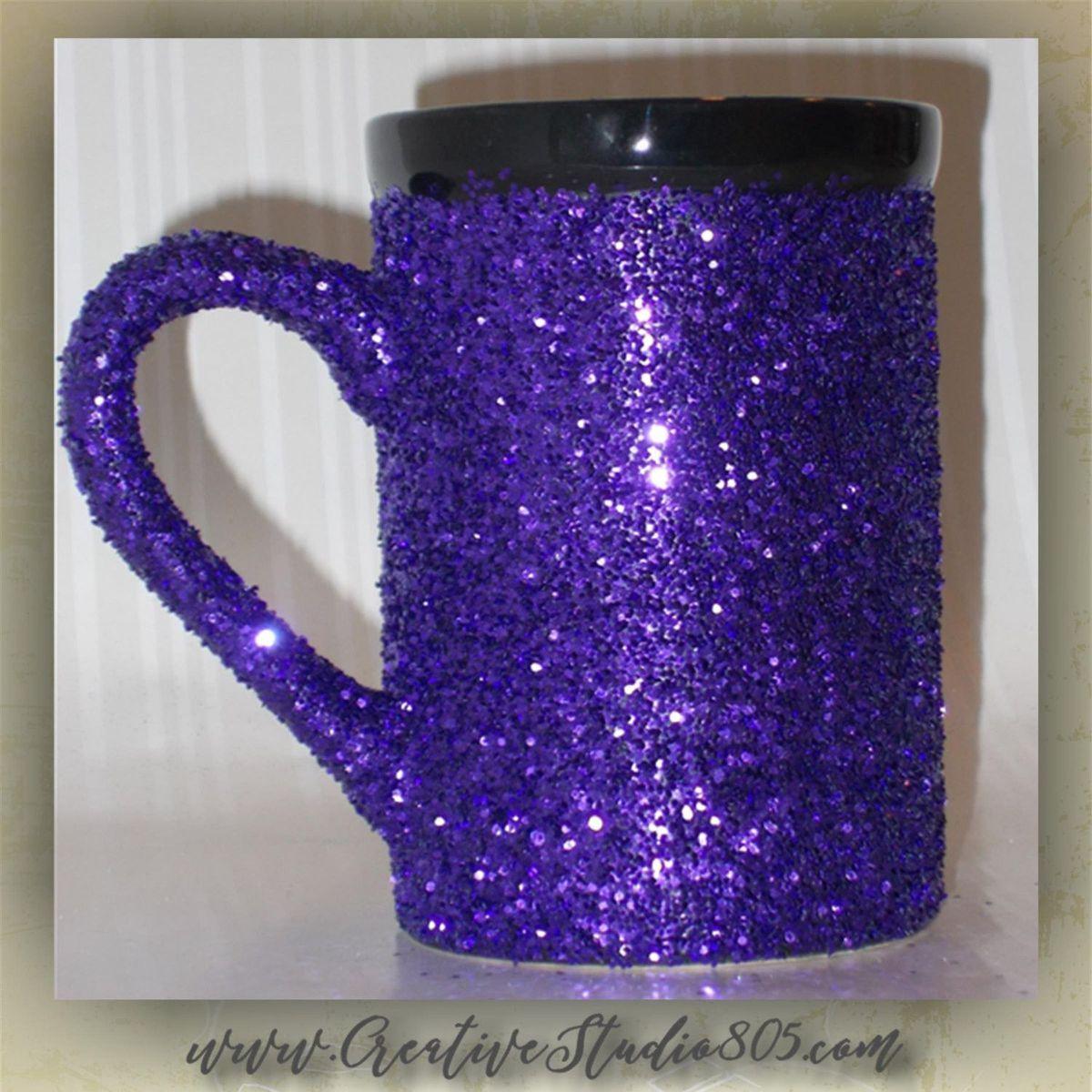 15oz Glitter Coffee Mugs Mug Cute Cups Unique