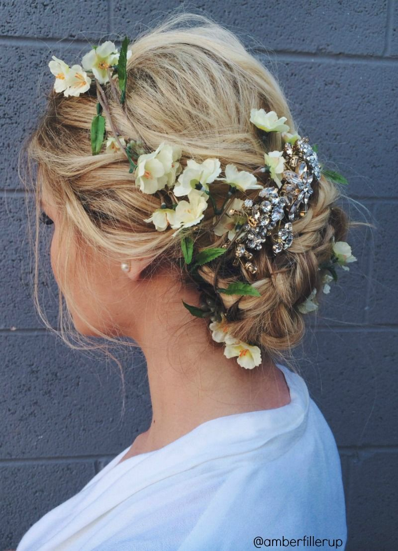 25 braided wedding hair ideas to love | barefoot blonde, wedding