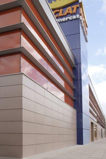 fachada ventilada cermica frontek exclusiva pieza de cermica extrusionada excelentes cualidades tcnicas para el revestimiento de fachadas - Revestimientos De Fachadas