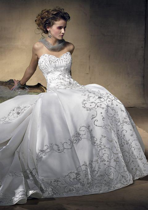 Amalia Carrara collection for Eve of Milady Style 261 Silk-Satin ...