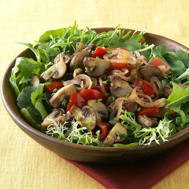 Sauteed Mushroom Salad Recipe : Target Recipes