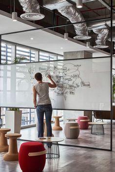 Archiparti Work Design Studio Workspace Amazing Offices Beginner Workout At Home Basement Office C In 2020 Buroraumgestaltung Buro Design Corporate Office Design