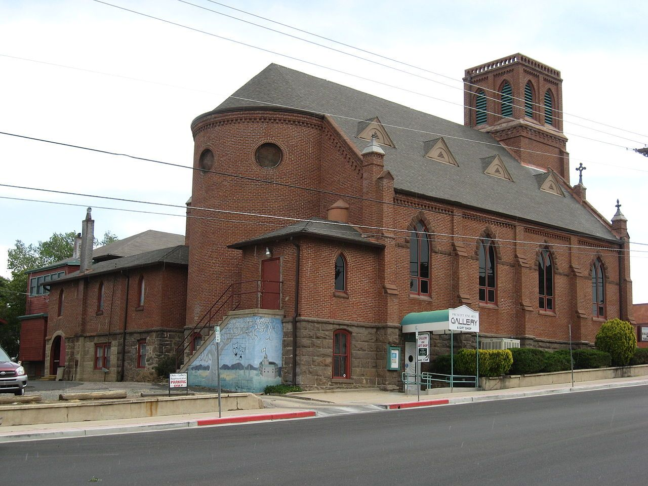 Sacred Heart Catholic Church And Rectory In Prescott Arizona