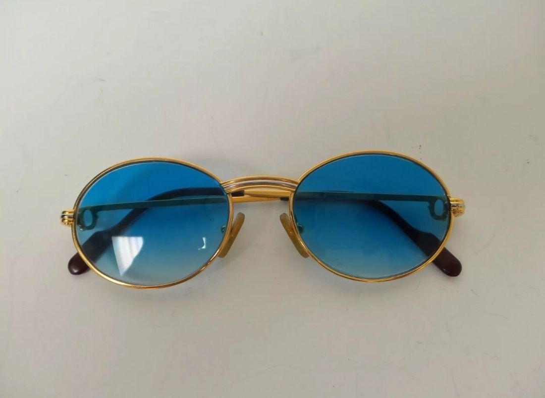 Cartier Vintage Saint Honore Gold Frames Size One Size $652 ...