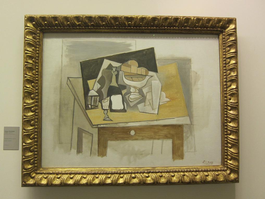 Grande Nature morte (1917-18) by Pablo Picasso