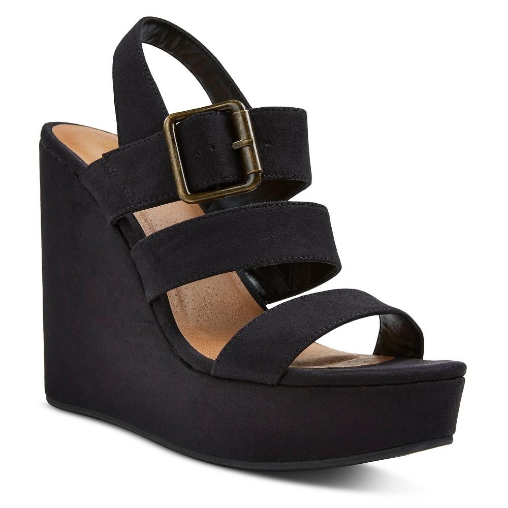 8877862e050 Women s Brandi Ankle Strap Sandals - Mossimo Supply Co. Black 8.5 ...