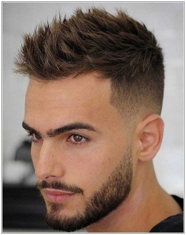 Haar Frisuren 2018 Seite Kurz Oben Lang Frisur Manner Dunnes Haar Friseur Frisuren Herrenfrisuren Haarschnitt Kurz Herren Haarschnitt