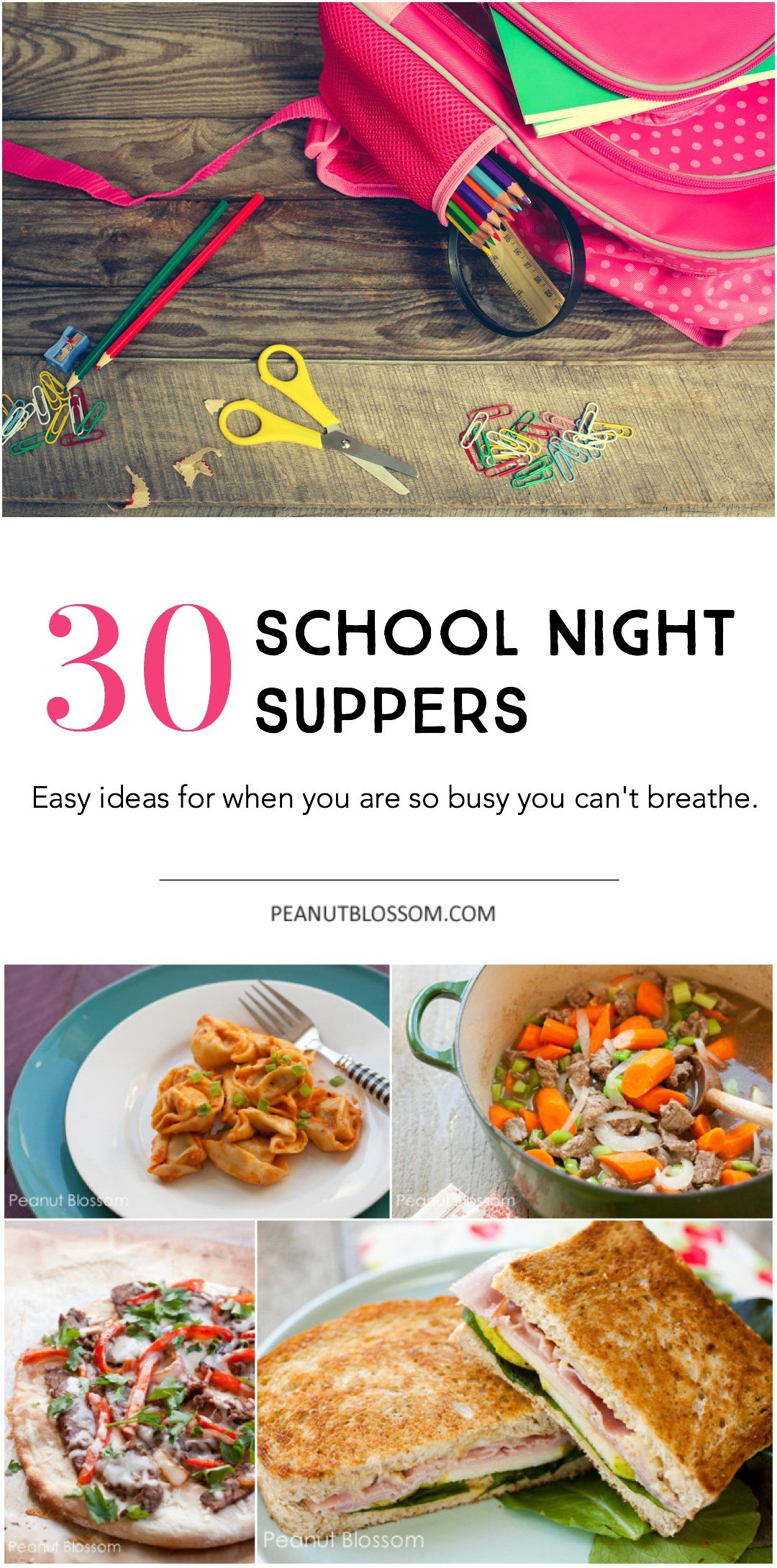 30 Days of Soccer Night Meals: Feeding your family when you don\'t ...